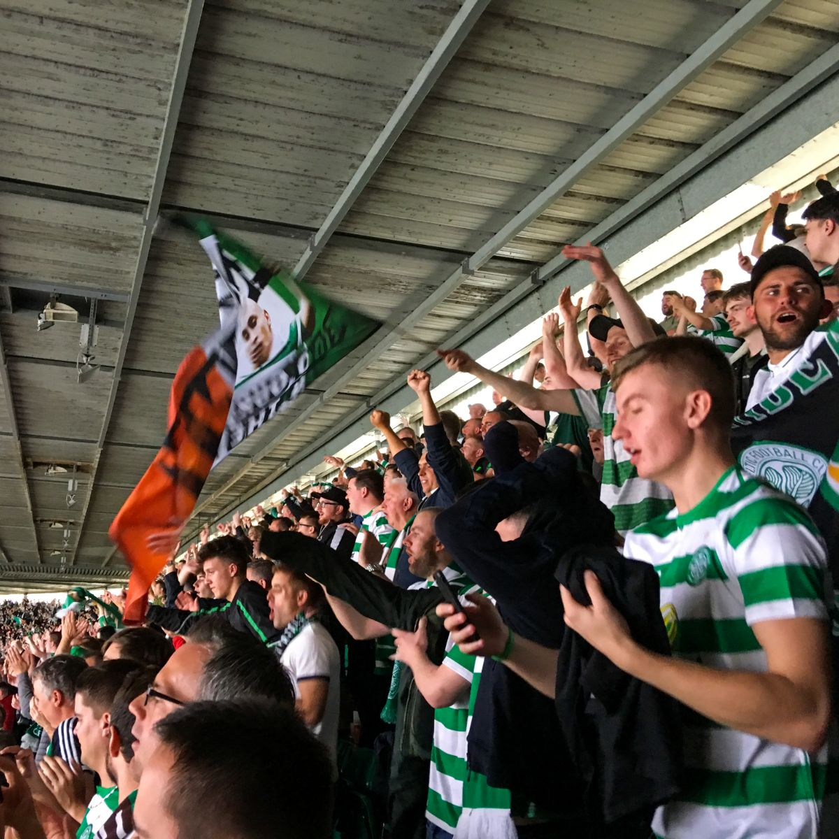 Day 3 - Match Day Experience: Celtic x Rangers
