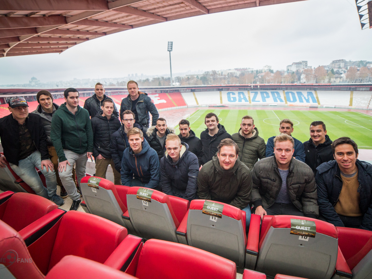 Day 2 - Stadium Tours and Serbian Dinner