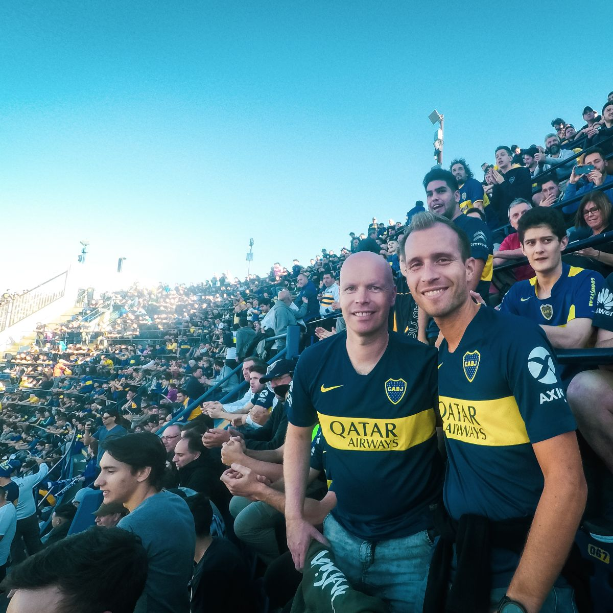 Day 3 - Superclasico: Boca Juniors x River Plate!